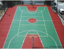 Δήμος Πετρούπολης: Ακρυλικός τάπητας στο γήπεδο μπάσκετ οδού Έλλης & Σουλίου