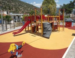 Playground in Amfissa, Greece