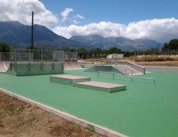 Sparta Goude Park: Special skating surface (Ergorollertop).