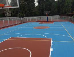 Γήπεδο μπάσκετ στο Δημοτικό Στάδιο Φιλοθέης